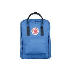 Fjallraven Kanken Backpack - UN Blue/Navy (625 SEK) ❤ liked on Polyvore featuring bags, backpacks, fjällräven, navy bag, fjallraven bags, backpacks bags and knapsack bags
