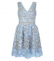 Blue lace dress £39.99 €49.99