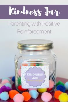 Parenting with positive reinforcement. Create a Kindness Jar for the family. Teaching Kindness, Kindness Activities, Kindness Ideas, Toddler Class, Toddler Stuff, Motivation For Kids, Friendship Games, Classroom Organisation, Classroom Management