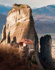 Meteora greece by evgeni dinev