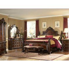 Grand European Bedroom
