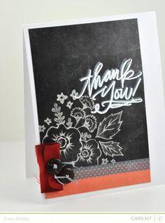 Thank You! - Studio Calico Cuppa Card Kit