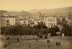 Greece Pictures, Old Pictures, Old Photos, Vintage Photos, My Athens, Athens Greece, Greece History, Old Greek, Good Old Times