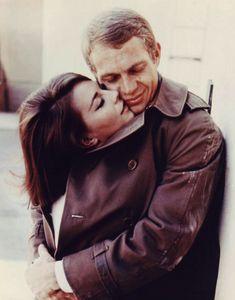Steve McQueen and Natalie Wood.