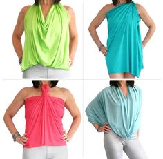 HipKnoTies are top rated convertible dresses & multi way garments. Perfect for travel & women on the go! Diy Fashion, Fashion Beauty, Convertible Clothing, Multi Way Dress, Infinity Dress, Wardrobe Basics, Matching Outfits, Diy Clothes, Chic Outfits