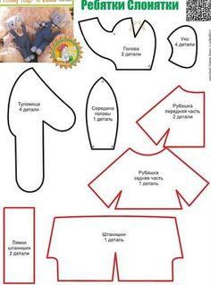 ***MUÑECOS DE PELUCHE*** (pág. 2) | Aprender manualidades es facilisimo.com
