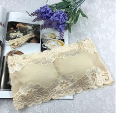 Women Brassiere Sexy Lace Bra Sexy Prevent Exposed Lace Wrapped Chest Lace Underwear for Females Weave Bras #C4
