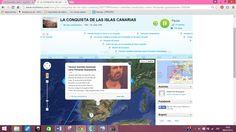 http://www.myhistro.com/show-story/200110#!-  Entra en el enlace para ver un cronograma sobre la Conquista de las Islas Canarias, realizado para la asignatura Avances en Tecnologías Digitales para la Enseñaza y el Aprendizaje del Máster MEDUTIC