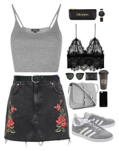 """Untitled #2873"" by wtf-towear ❤ liked on Polyvore featuring Topshop, adidas Originals, Gap, Spitfire, M&Co, Maison Margiela, Anine Bing, The Created Co., Neiman Marcus and Vivienne Westwood"