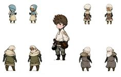 Characters - Bravely Default: Flying Fairy (Import) Concept Art
