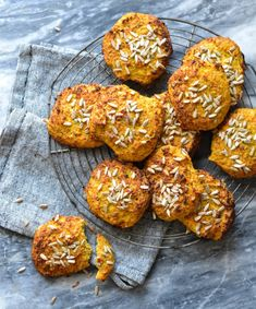 Carrot & Cauliflower buns with twist of parmesan and thyme