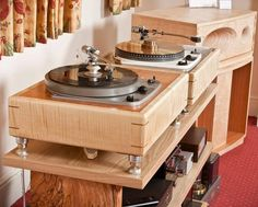 Diy Turntable, Turntable Record Player, Record Players, Garrard Turntable, High Fi, High End Turntables, Diy Speakers, Horn Speakers, Audio Design