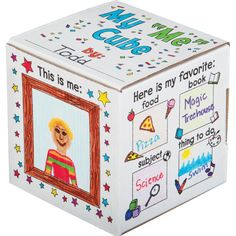 "Ready-To-Decorate™ My ""ME"" Cube Set"