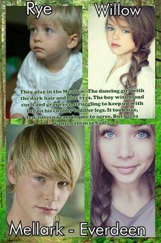 Peeta and Katniss' kids...WARNING: *SPOILERS*