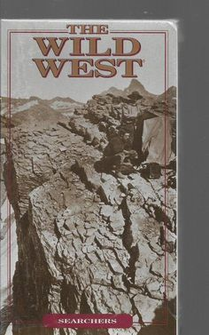The Wild West Searchers Time Life VHS