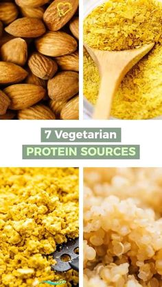 7 Best Protein Sources for Vegetarians These are the best protein sources for vegetarians to easily get plant-based protein in their diet, including our favorite high protein recipes! #protein #vegetarian #vegan #healthyrecipes<br> These are the best protein sources for vegetarians to easily get plant-based protein in their diet, including our favorite high protein recipes! Best Vegetarian Protein Sources, Low Calorie Vegetarian Recipes, Vegetarian Recipes Videos, Good Sources Of Protein, Best Protein, Healthy Protein, Protein Foods, Vegan Recipes, Protein Sources For Vegetarians