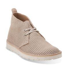 c22910aad8e9 Womens Desert Aerial Sand Interest Suede - Womens Medium Width Shoes -  Clarks