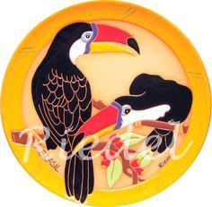 Aves do Pantanal - Artesanato Brasileiro                                                                                                                                                                                 Mais