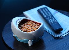 Think twice about snacking with this terrifying bowl.