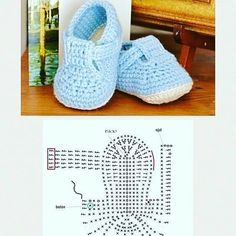 Veronica - Qoster - Her Crochet Booties Crochet, Crochet Baby Sandals, Baby Girl Crochet, Crochet For Boys, Newborn Crochet, Crochet Slippers, Crochet Baby Blanket Beginner, Baby Knitting, Pinterest Diy Crafts