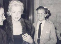 1955 New York Instantanés - Divine Marilyn Monroe