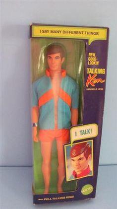 1969 Mattel New Good Lookin' Talking Ken Doll 1111 in Original Box | eBay