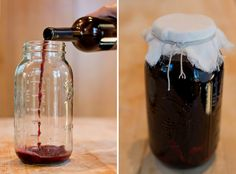 Making red wine vinegar at home. (via Food52)
