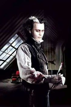 Johnny Depp. Sweeney Todd