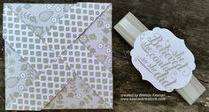 Create cards with a fun Pinwheel fold!