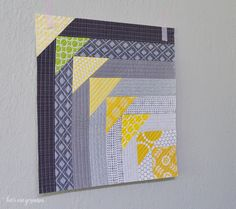 Tutoriales de Patchwork: BLOQUE NORTH WEST