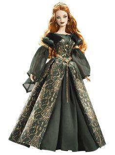 Barbie Aine Collector Doll - Legends of Ireland Silver Label. Barbie Legends of Ireland AINE Collector Doll. Barbie Style, Barbie I, Barbie And Ken, Barbie Dress, Barbie Clothes, Princess Barbie, Poupées Barbie Collector, Dream Doll, Glamour