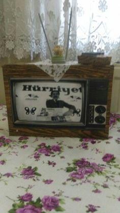 Eski tv maketi