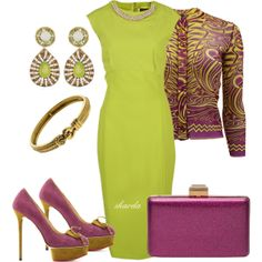 """purplelime"" by gaitriesharda on Polyvore"