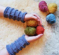 Gratis strikkeoppskrift : Pulsvarmere | Nøsteblogg - Nøstebarns blogg