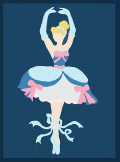 Disney Ballerina by middleR3DD is Gracefully Abstract #Princess #Disney