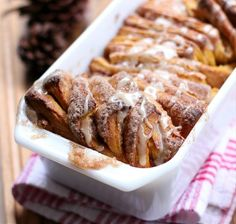 Pumpkin Spice Pull Apart Bread {Willow Bird Baking}