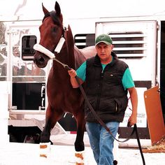 Nyquist arriving at Pimlico