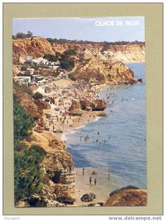 Millions of antique postcards are waiting for you! Small towns, traditional crafts, various topics… Find the postcards you were looking for! Algarve, Albufeira Portugal, Small Towns, Old Photos, Auction, Water, Postcards, Wanderlust, Outdoor