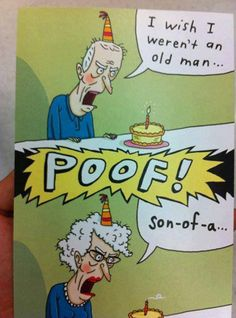 Funny Birthday Card Hahahahahha Cards Quotes Happy Old