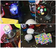 80s party ideas | 80's Rock Star Neon Rocks Adult Teen Birthday Party Planning Ideas