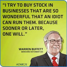 Brk B Stock Quote Endearing Warren Buffett Quotes On Leadership Business Investing