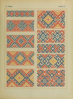 """""""patterns and stitches"""" - It Was A Work of Craft Cross Stitch Geometric, Cross Stitch Borders, Cross Stitch Designs, Cross Stitching, Cross Stitch Patterns, Blackwork Embroidery, Folk Embroidery, Cross Stitch Embroidery, Embroidery Patterns"""
