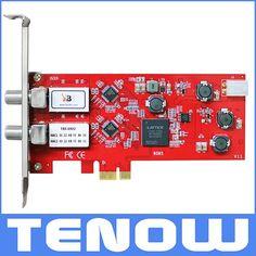 84.99$  Buy now - http://alik2r.worldwells.pw/go.php?t=32591339551 - EU Warehouse Shipping! TBS6902 DVB-S2 Dual Tuner PCIe Card