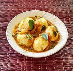 Kerala style egg curry recipe - Egg roast paleo recipe