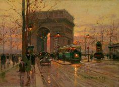 eduardo cortes artist and painter   Triumphal Arch