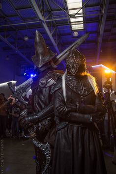 Abyss Watcher and Yuria of Londor
