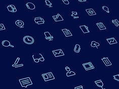 Office Icons Sketch freebie - Download free resource for Sketch 3- Sketch App Sources