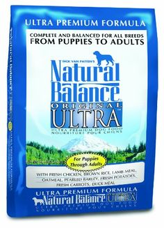 Natural Balance Dry Dog Food, Ultra Premium Formula, 30 Pound Bag - http://www.thepuppy.org/natural-balance-dry-dog-food-ultra-premium-formula-30-pound-bag/