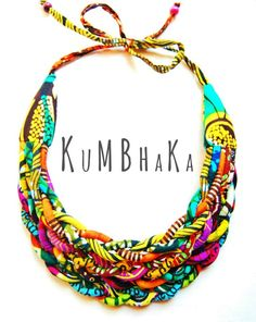 collier massaï tressé- Kumbhaka