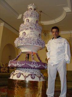 Royal wedding cakes from Kuwait